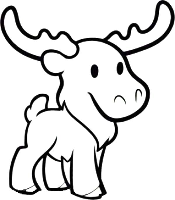 coloring moose free printable moose coloring pages for kids moose coloring 1 1