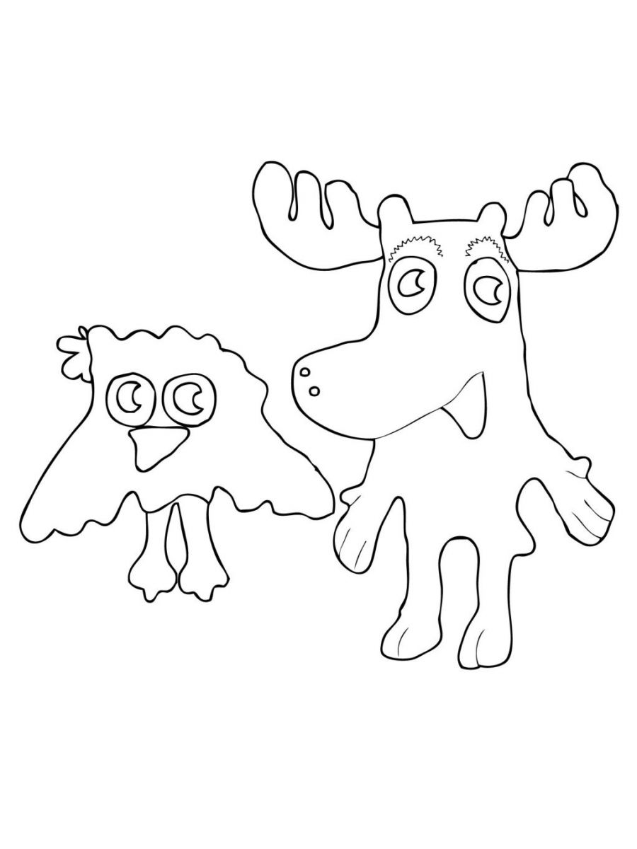 coloring moose free printable moose coloring pages for kids moose coloring 1 2