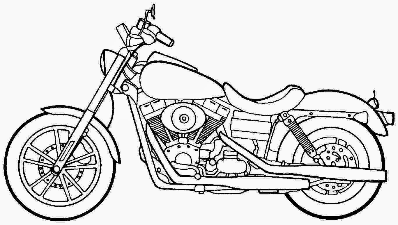 coloring motorcycle pages free printable motorcycle coloring pages for kids pages coloring motorcycle 1 1