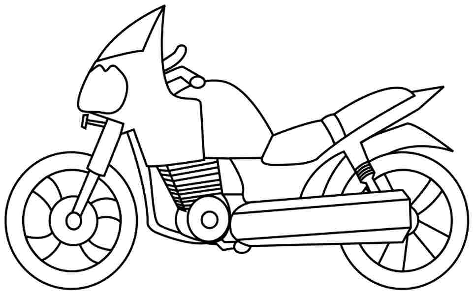 coloring motorcycle pages printables free motorcycle coloring pages baps coloring motorcycle pages