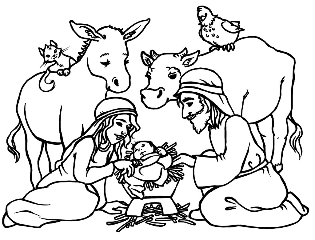 coloring nativity scene xmas coloring pages nativity coloring scene