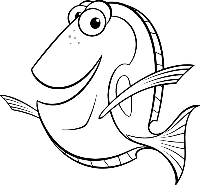 coloring nemo dory baby dory coloring pages at getcoloringscom free nemo coloring dory