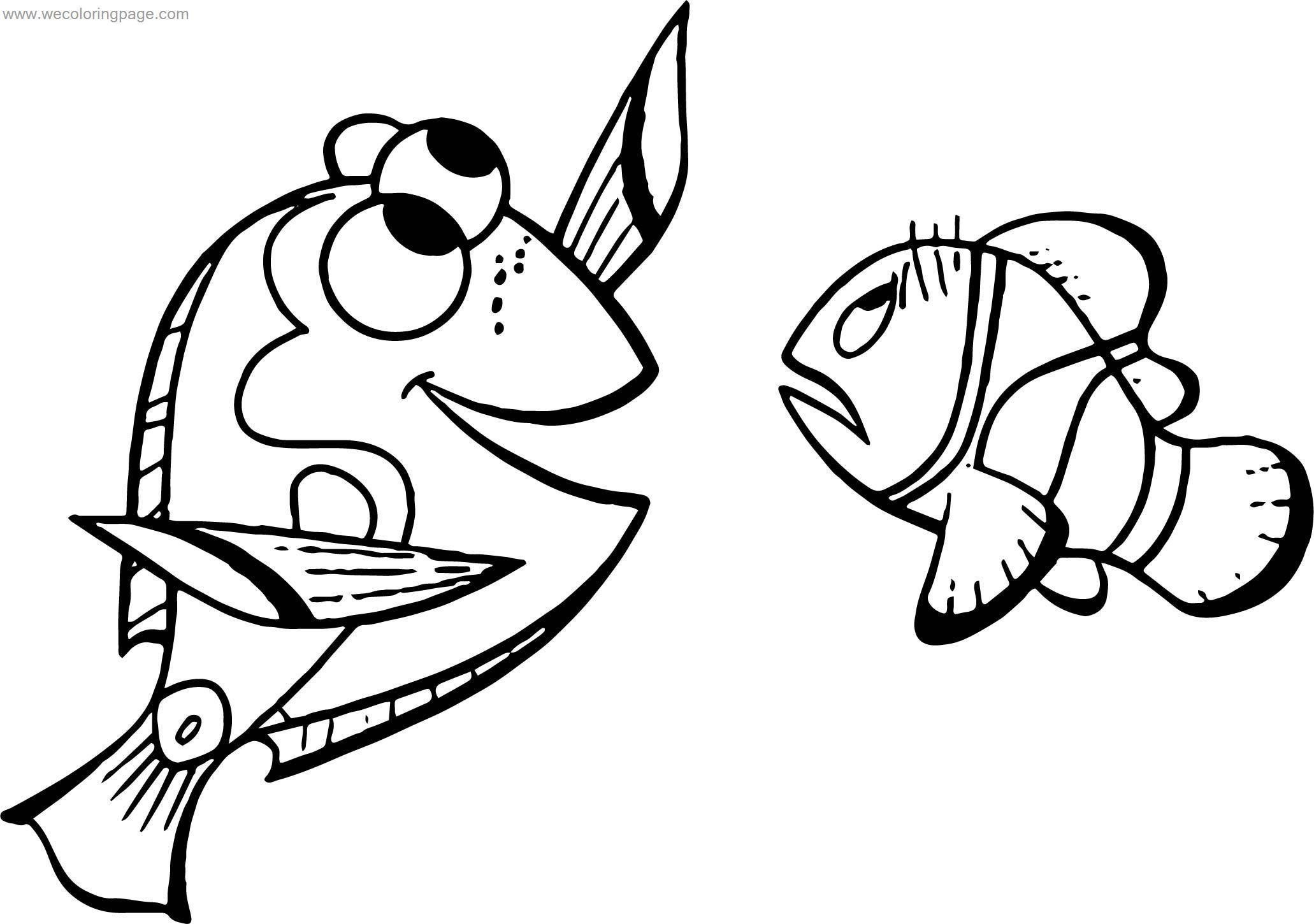 coloring nemo dory disney finding nemomarlin dory coloring pages dory coloring nemo