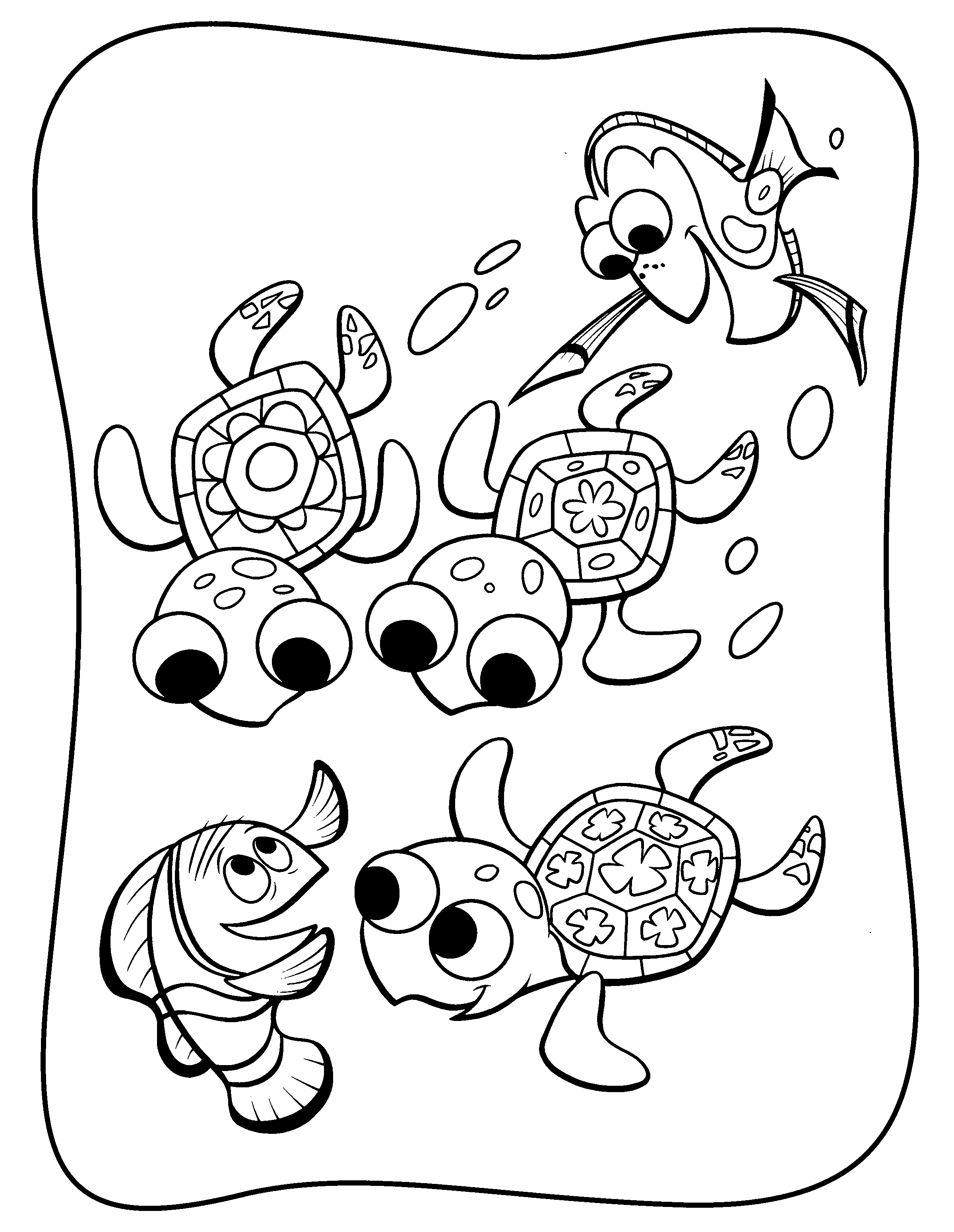 coloring nemo dory dory coloring pages best coloring pages for kids nemo coloring dory