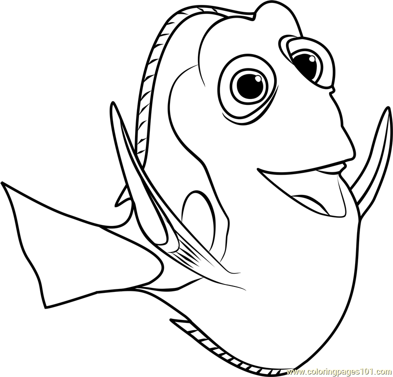coloring nemo dory fun learn free worksheets for kid ภาพระบายส dory ภาพ dory coloring nemo