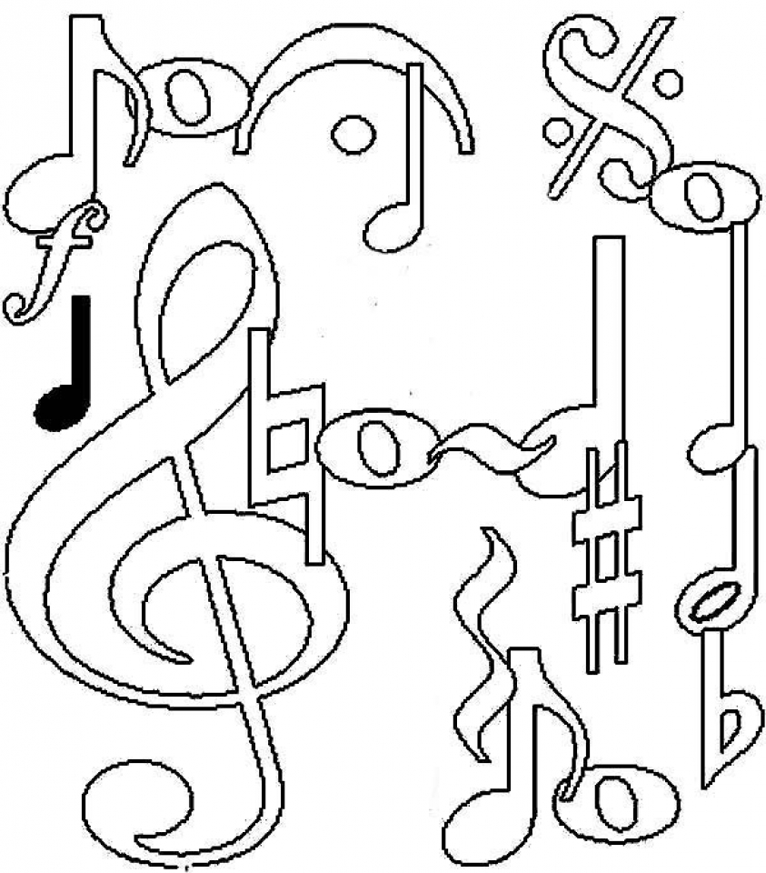 coloring notes get this printable music coloring pages for kindergarten notes coloring