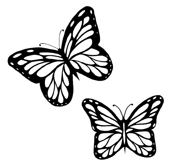 coloring outline butterfly butterfly coloring pages butterfly tattoo stencil butterfly coloring outline