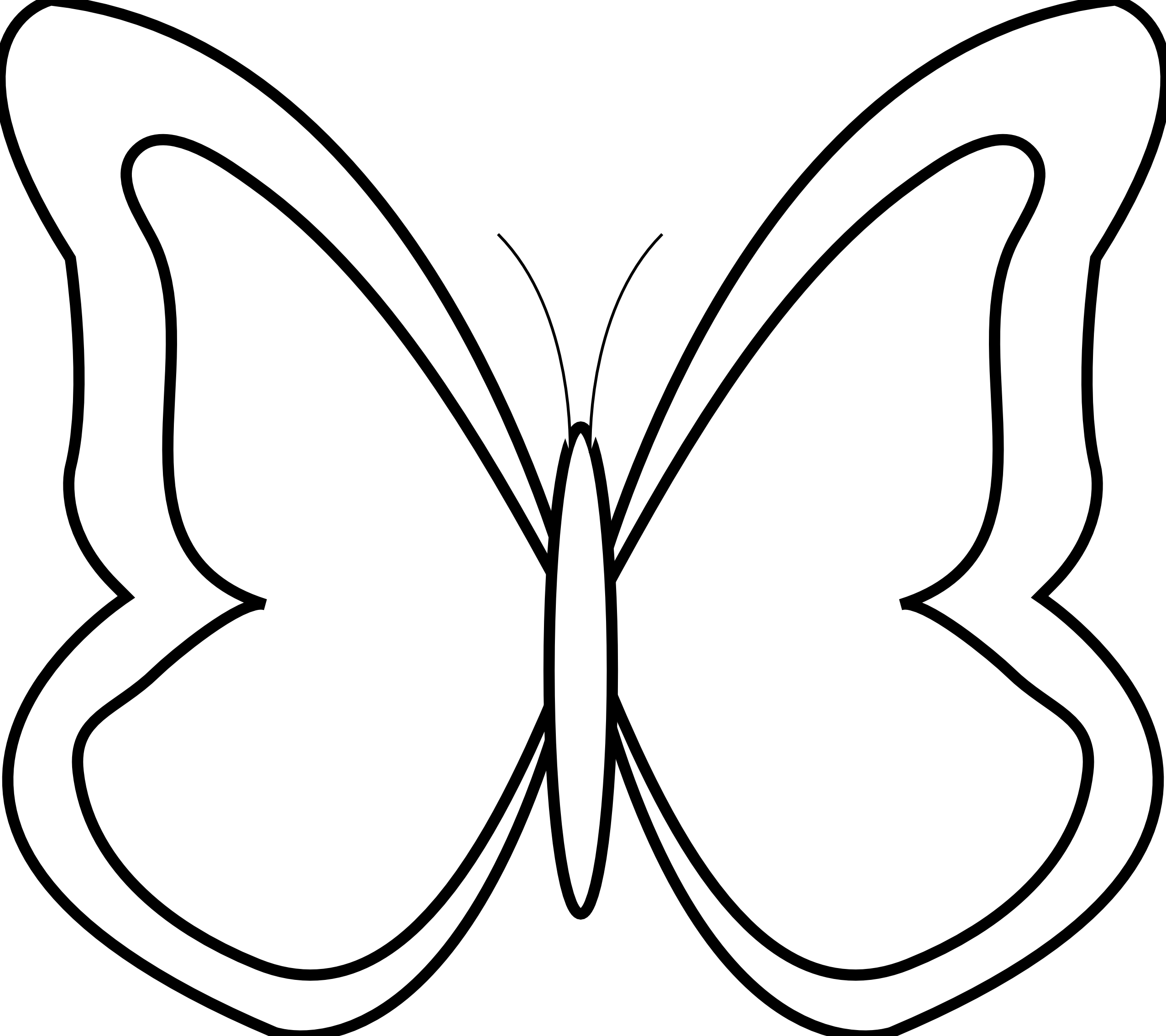 coloring outline butterfly butterfly outline clipart free download on clipartmag outline coloring butterfly