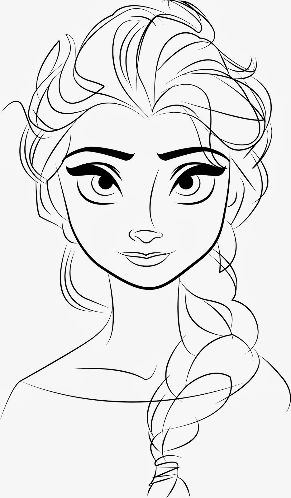 coloring outline for kids princesses to color for kids  princesses kids coloring pages for coloring outline kids