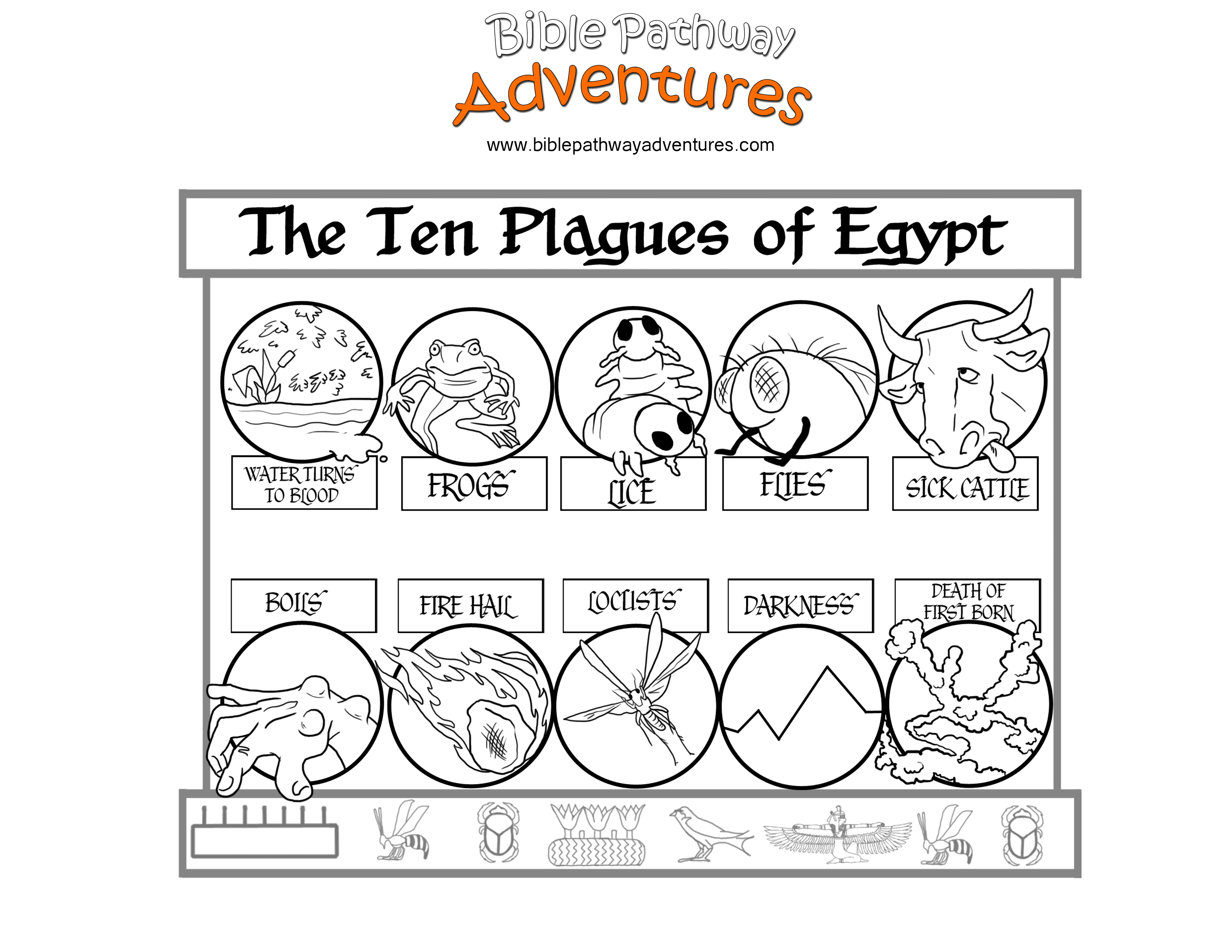 coloring page 10 plagues of egypt free printable coloring pages ten plagues coloring home coloring page 10 plagues of egypt