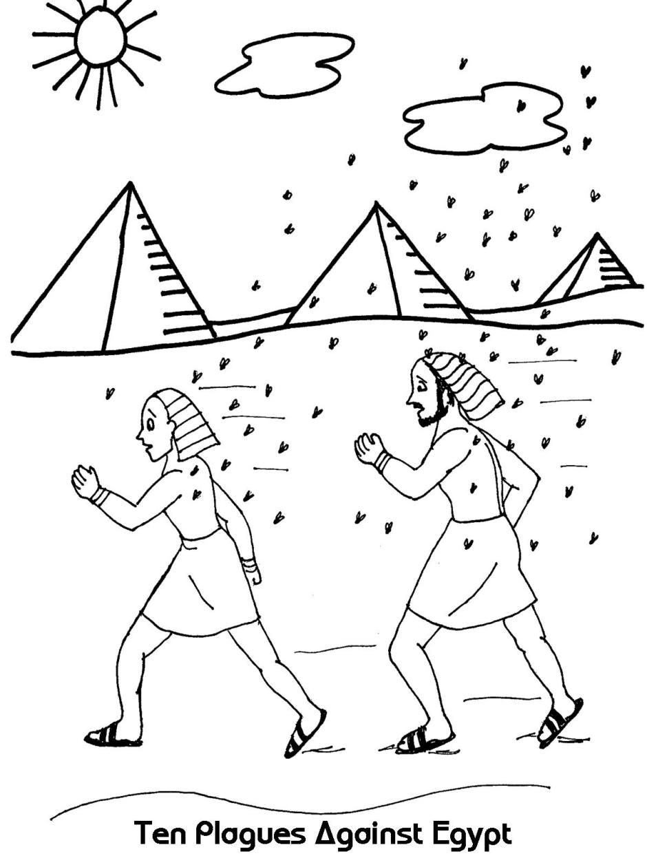 coloring page 10 plagues of egypt pin by samantha higgins on kindergarten sunday school page coloring egypt of 10 plagues