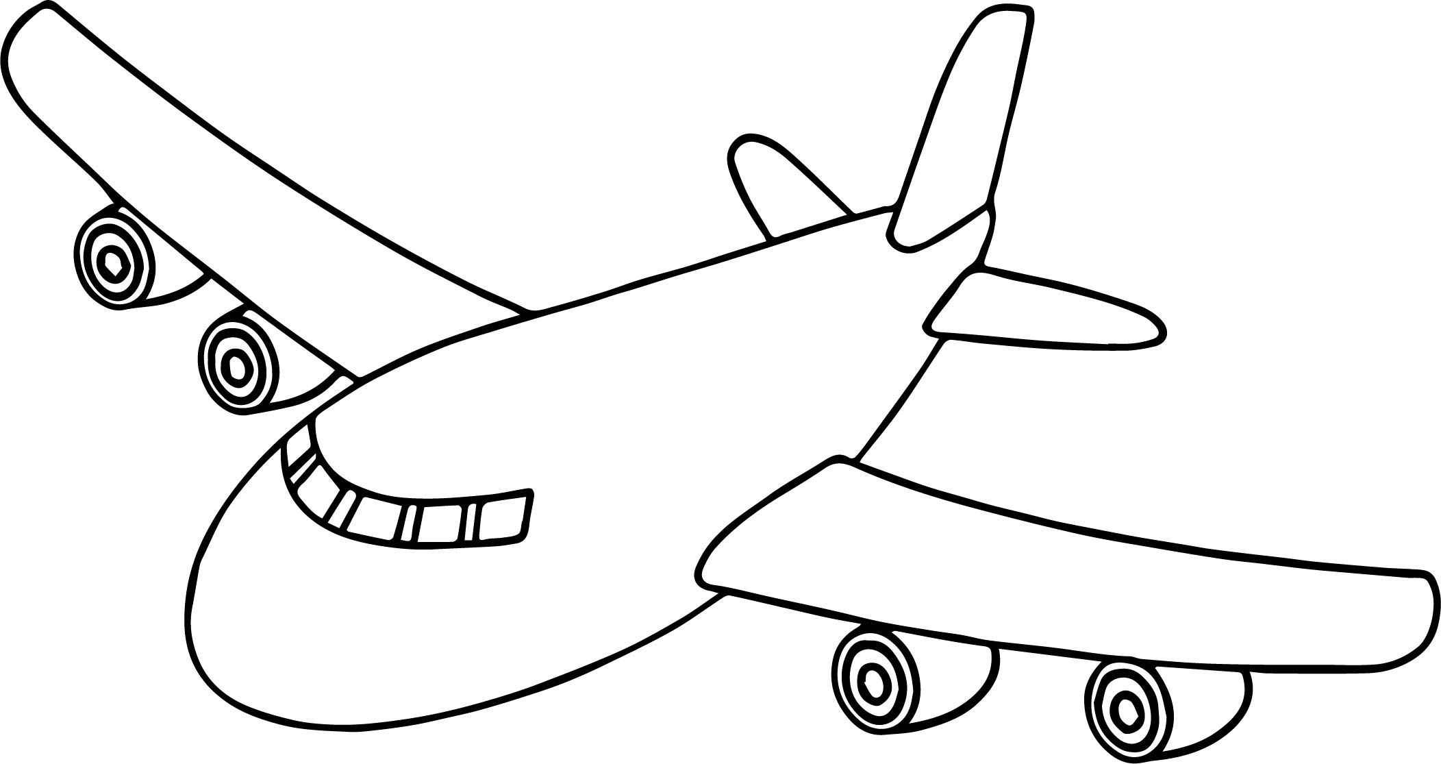 coloring page airplane airplane coloring pages coloring pages to download and print airplane coloring page