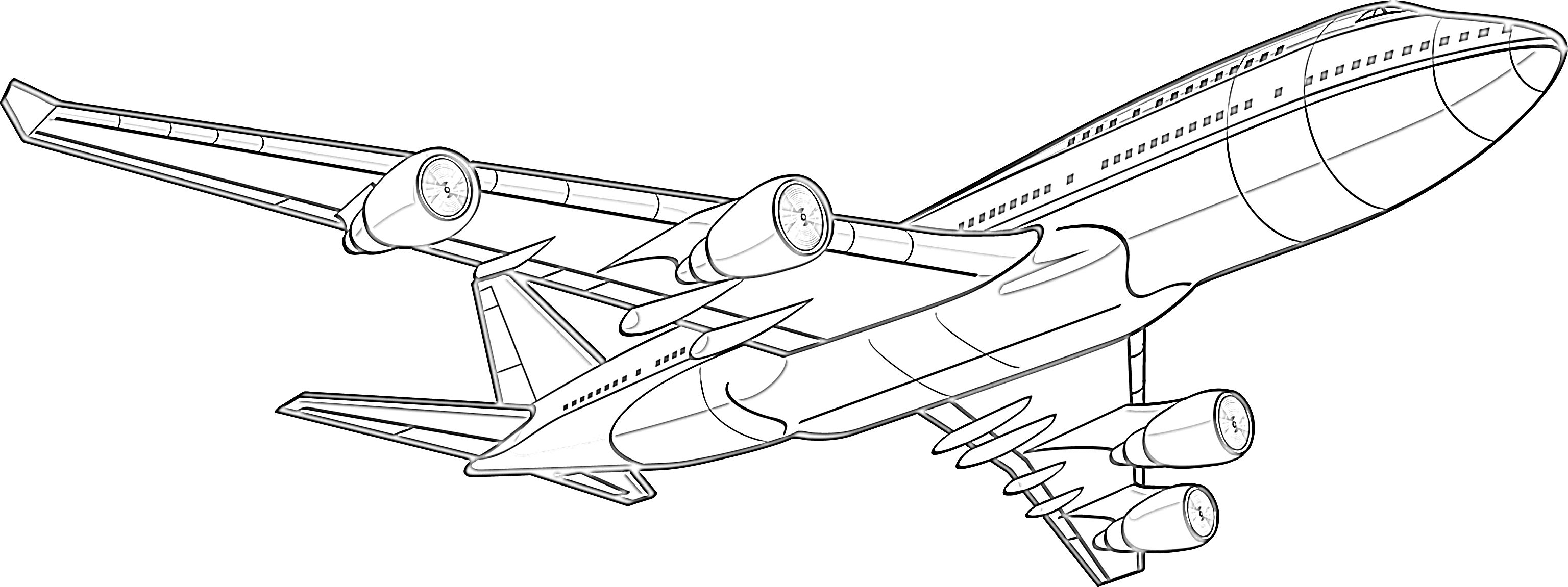 coloring page airplane airplane coloring pages for kids at getdrawings free coloring airplane page