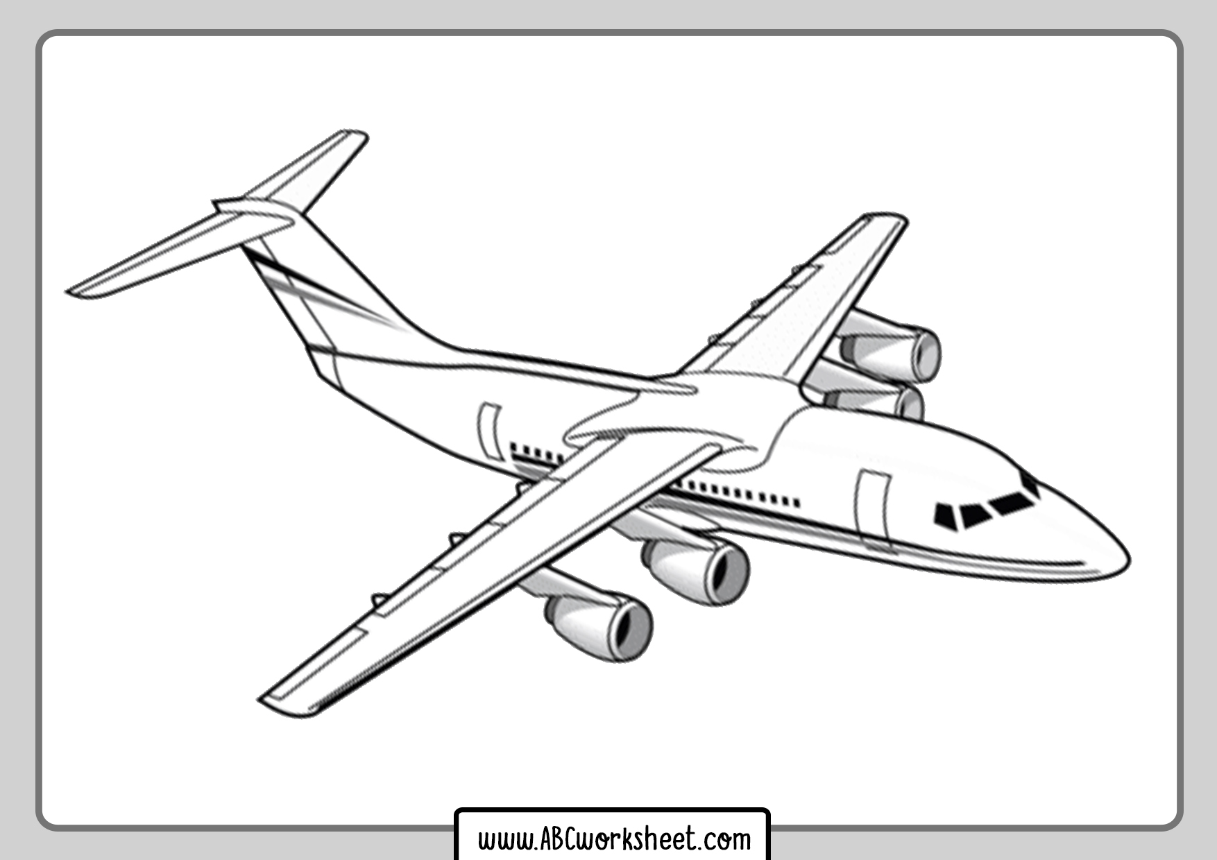 coloring page airplane free printable airplane coloring pages for kids cool2bkids airplane coloring page