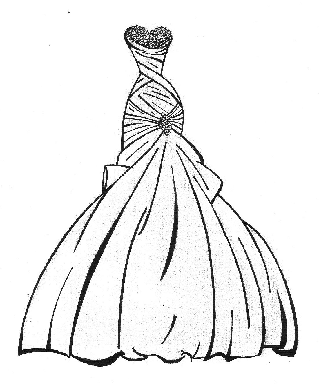 coloring page dress wedding dress coloring pages wedding coloring pages dress page coloring