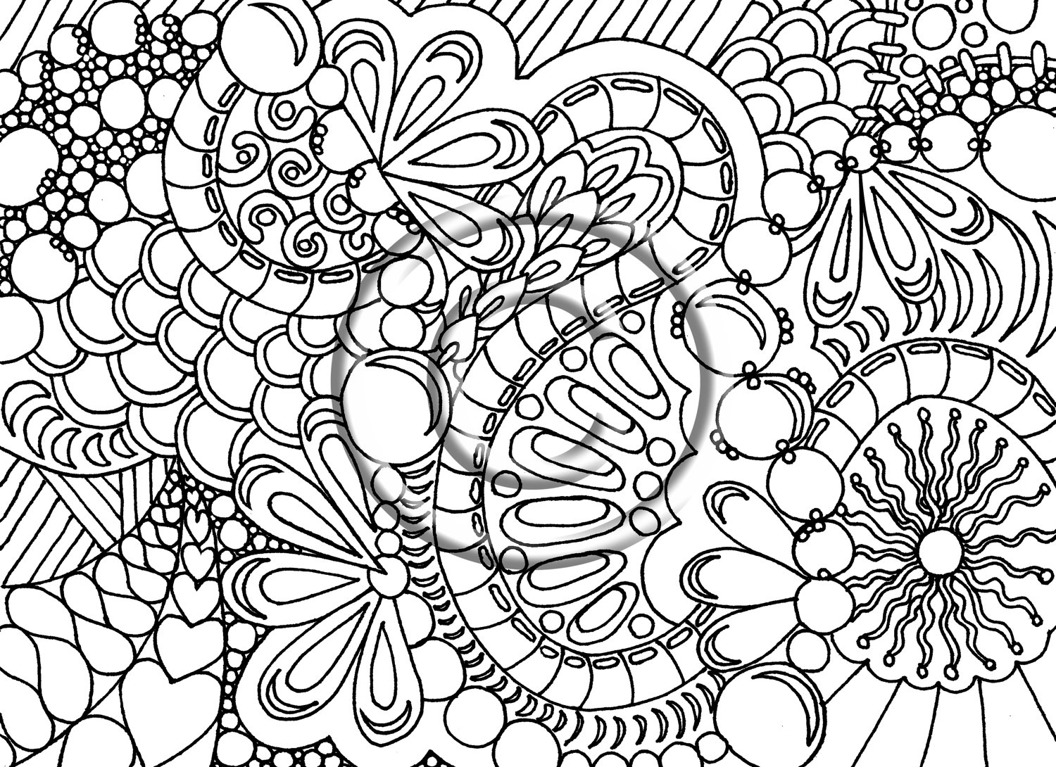 coloring page hard coloring pages for adults difficult animals 44 coloring hard page coloring
