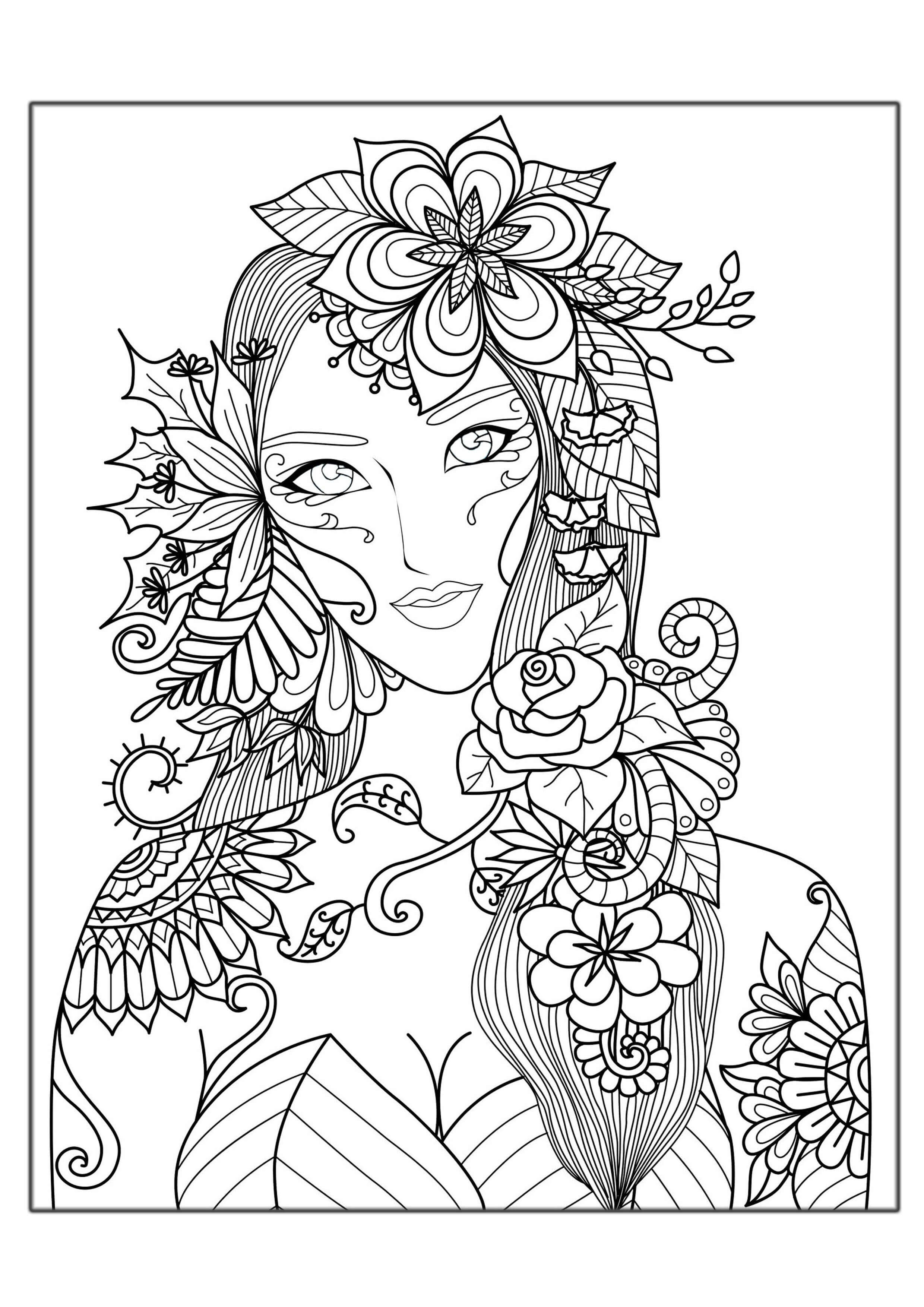 coloring page hard printable difficult coloring pages coloring home coloring hard page 1 1