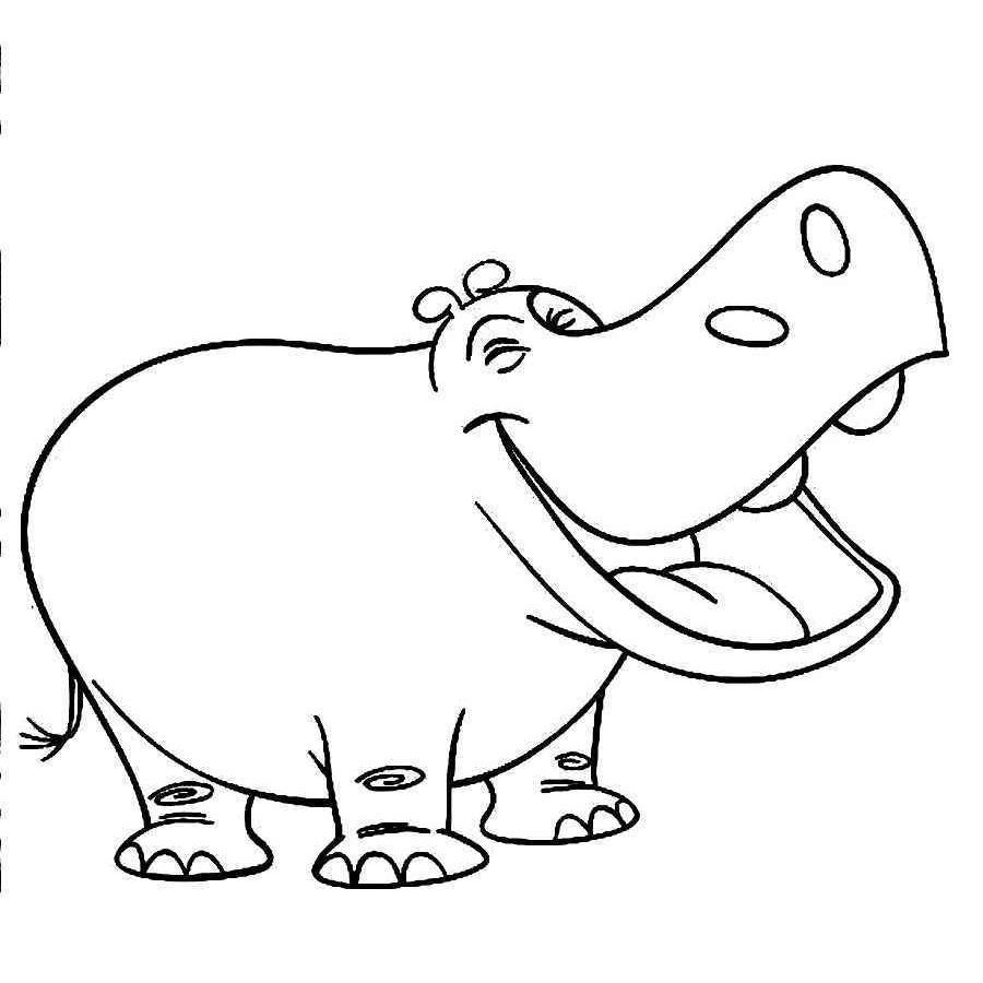 coloring page hippo hippopotamus coloring pages download and print page coloring hippo