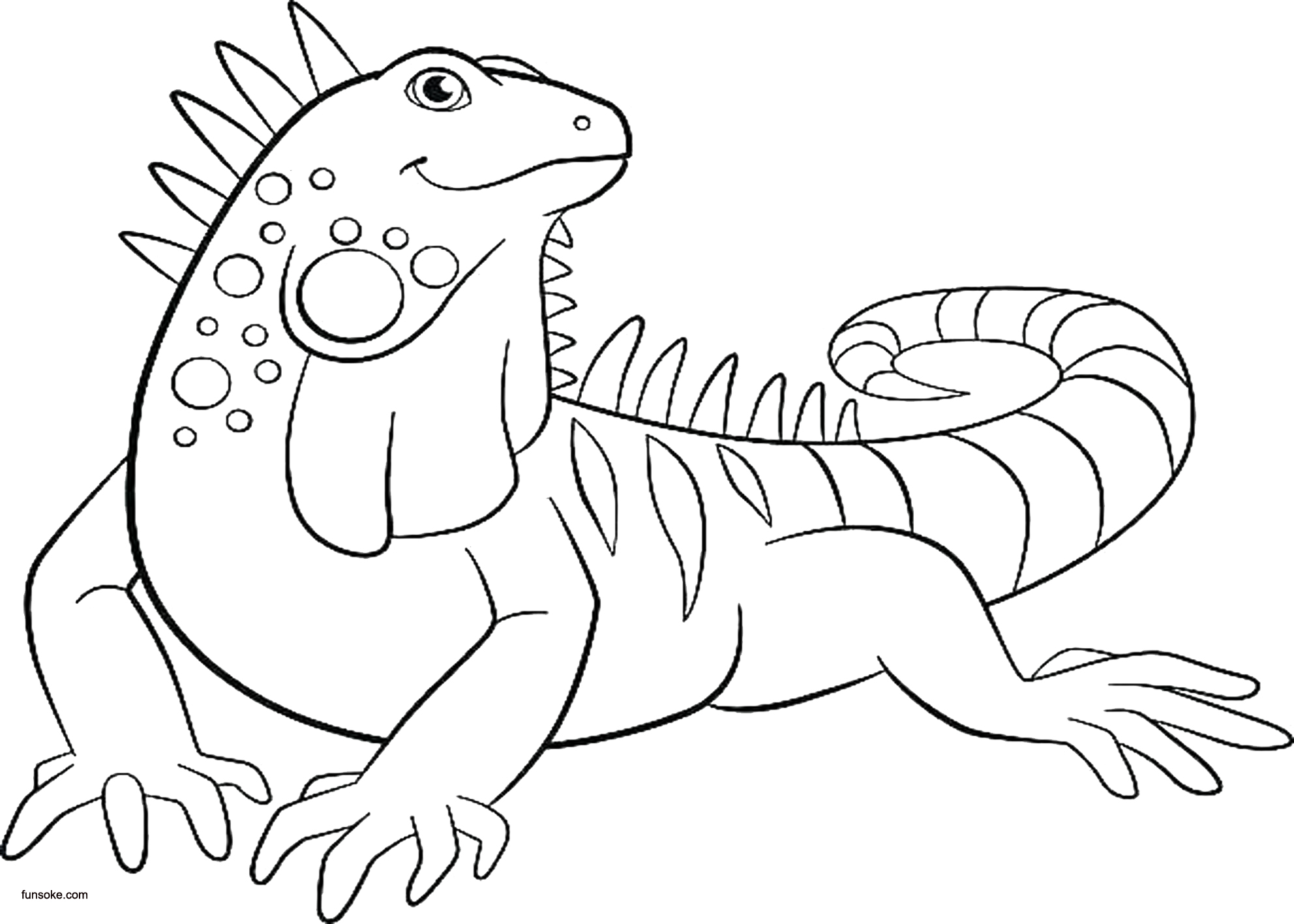 coloring page iguana 1 grayscale iguana coloring pages getcoloringpagesorg page iguana coloring