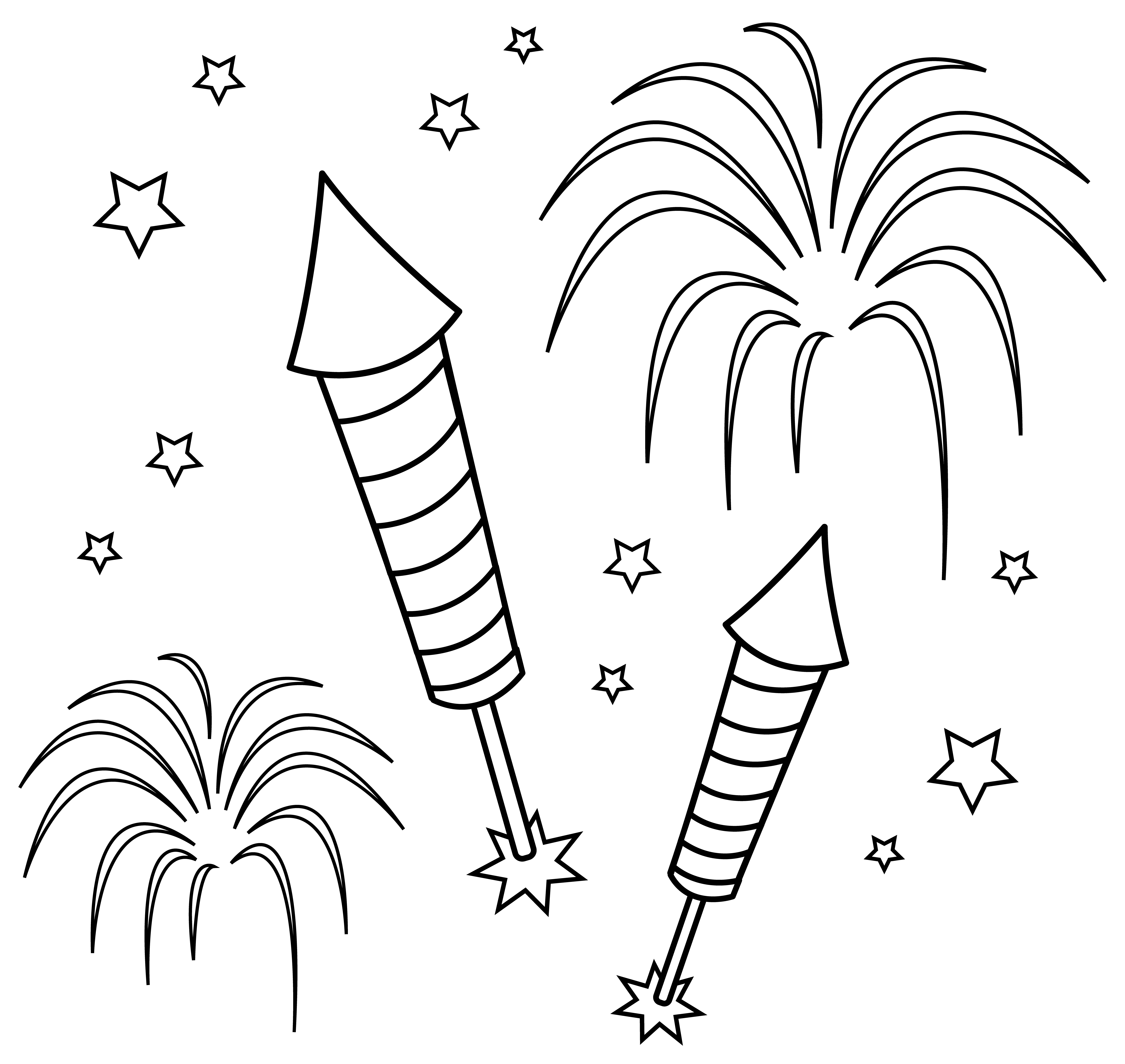 coloring page of fireworks coloring activity pages fireworks coloring page page fireworks coloring of
