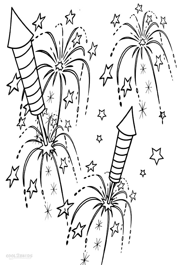 coloring page of fireworks firework coloring pages to download and print for free of fireworks coloring page
