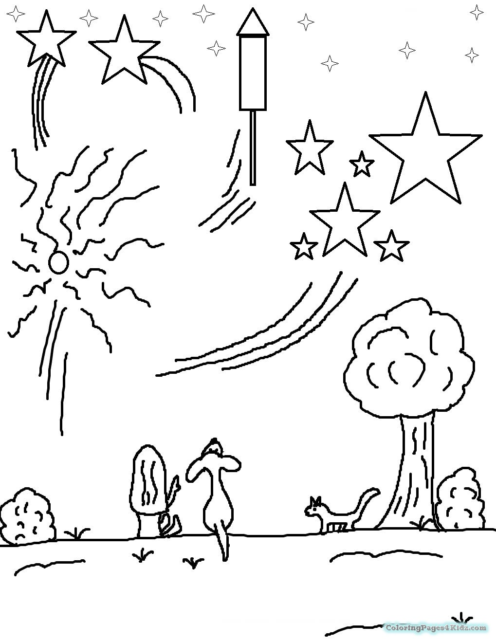 coloring page of fireworks fireworks coloring pages coloring pages for kids fireworks page of coloring