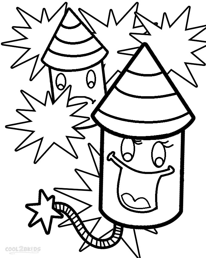 coloring page of fireworks fireworks coloring pages holidays coloringpedia paper fireworks page of coloring