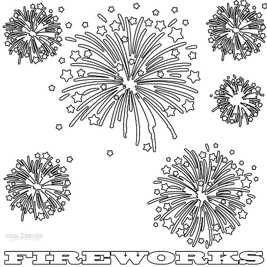 coloring page of fireworks fireworks in the sky coloring page download print page fireworks of coloring