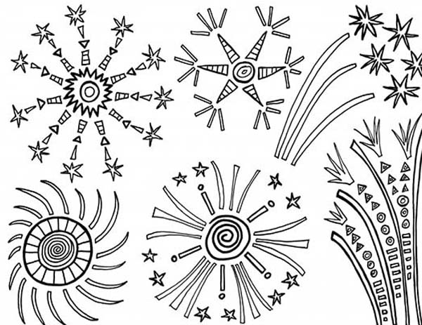 coloring page of fireworks laughing fireworks coloring page laughing fireworks of fireworks page coloring