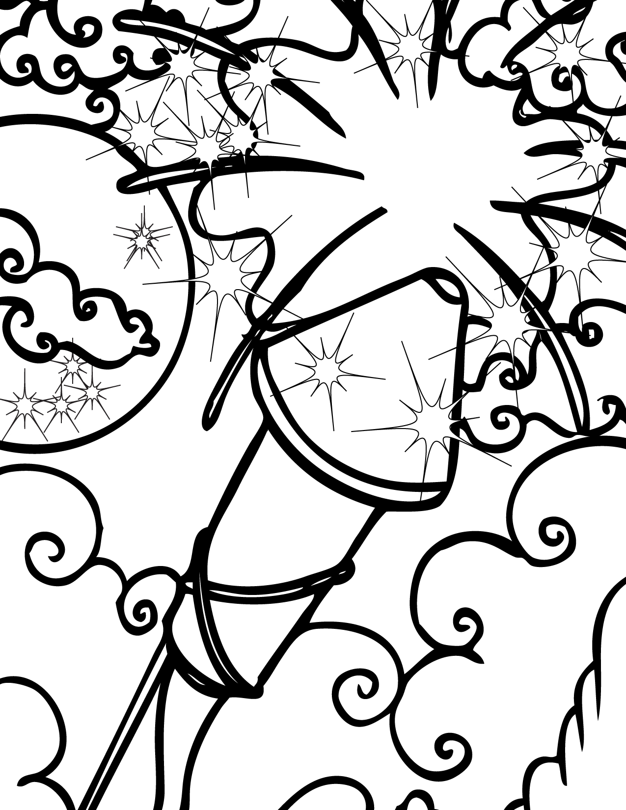coloring page of fireworks printable fireworks coloring pages for kids cool2bkids of fireworks page coloring