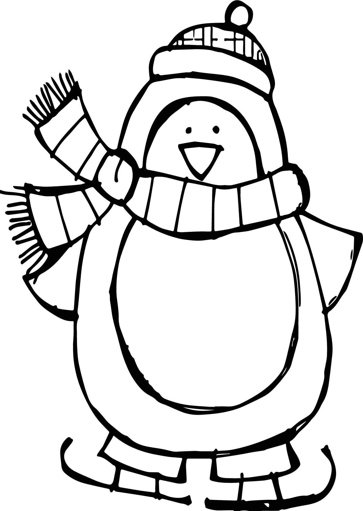 coloring page of penguin baby penguin coloring pages at getcoloringscom free coloring of page penguin