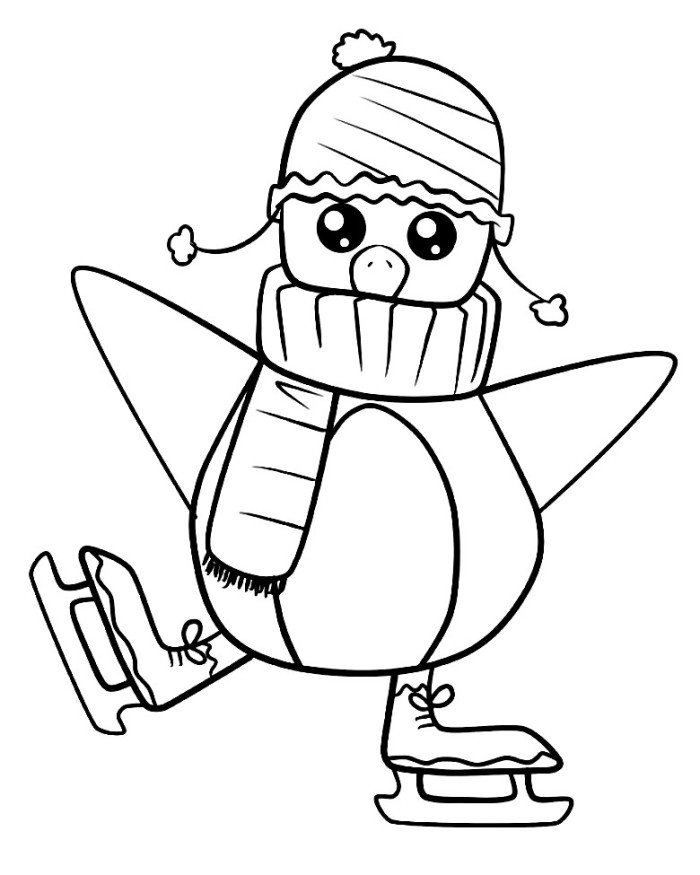 coloring page of penguin cute penguin coloring pages download and print for free penguin of coloring page