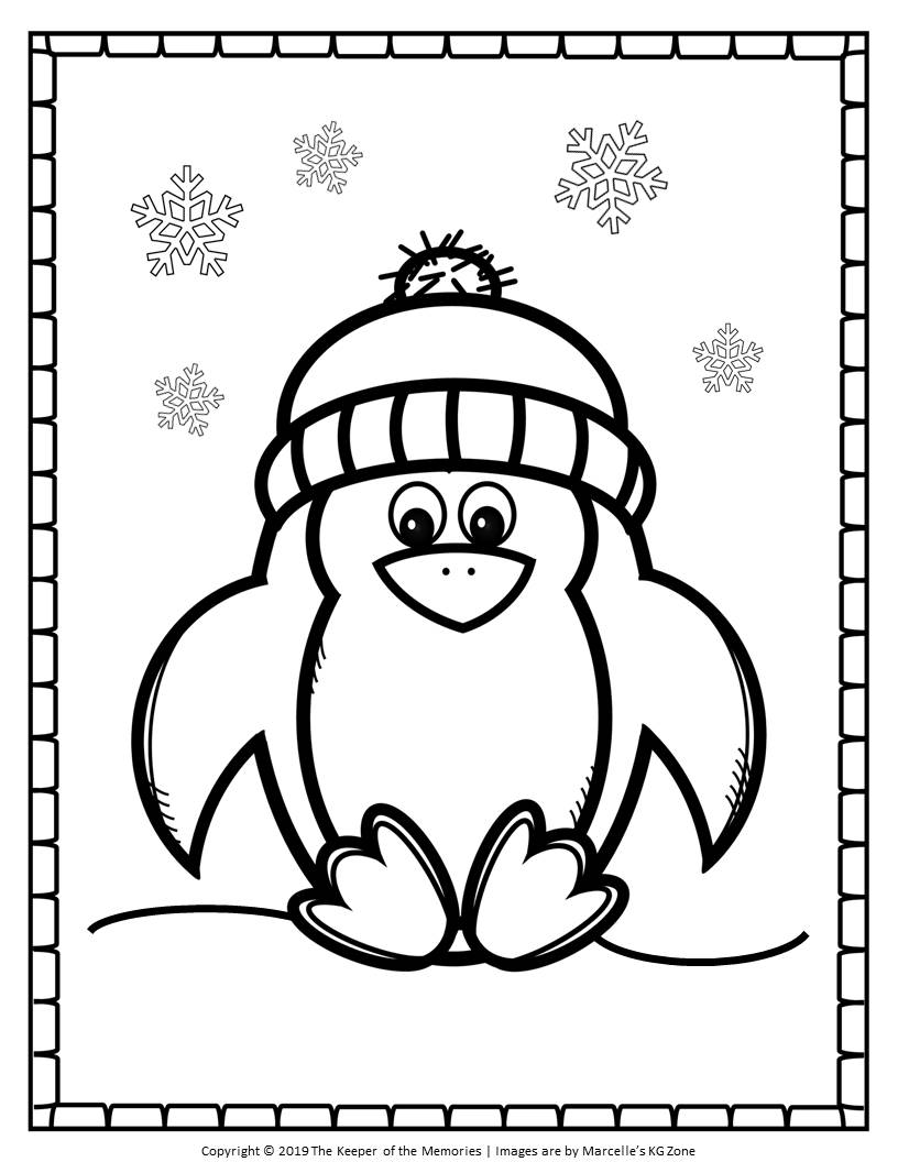 coloring page of penguin free printable penguin coloring pages cute penguin the of coloring page penguin