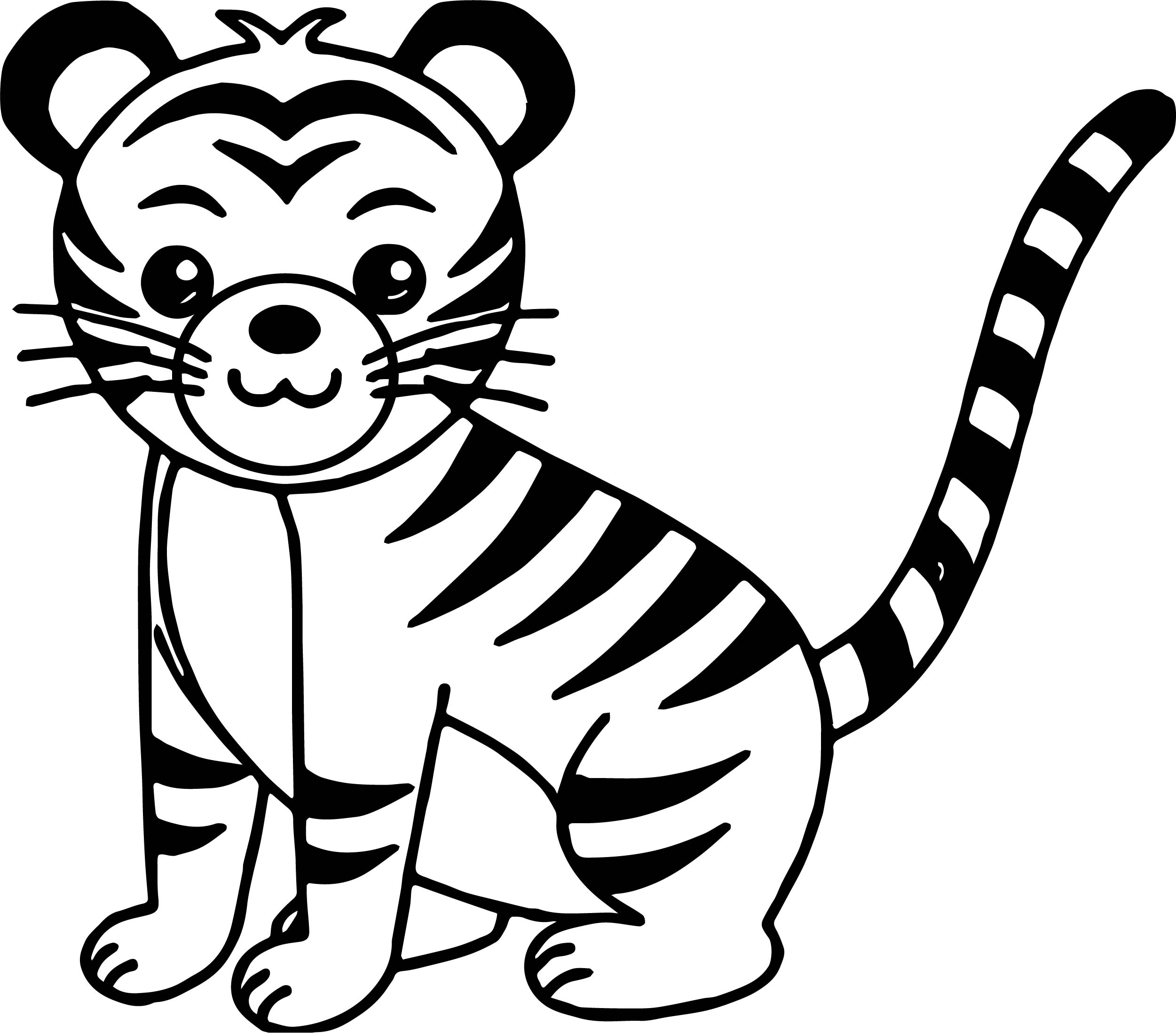 coloring page of tiger free tiger coloring pages coloring page of tiger