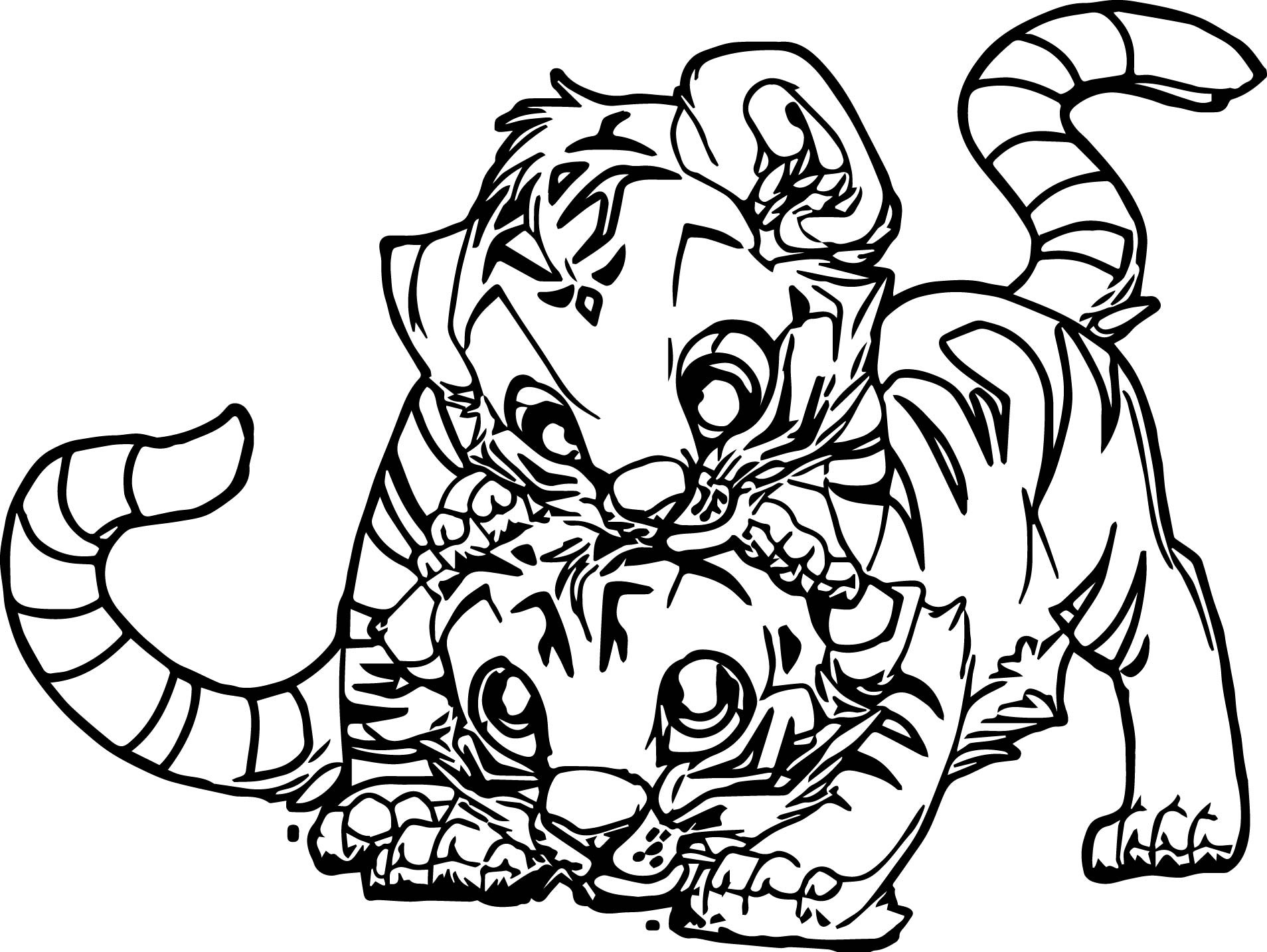 coloring page of tiger free tiger coloring pages tiger page of coloring