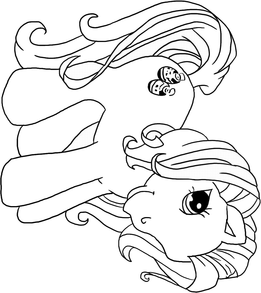 coloring page pony free printable my little pony coloring pages for kids page pony coloring