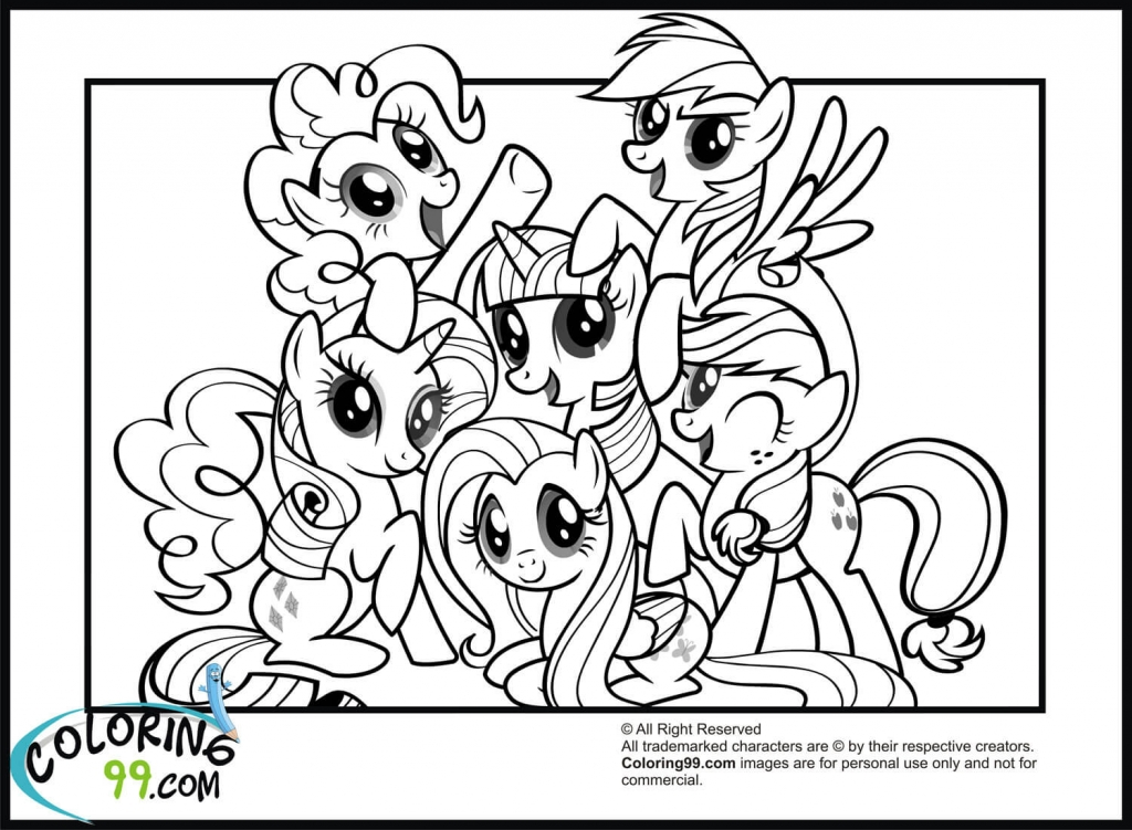coloring page pony my little pony coloring pages for girls print for free or page pony coloring