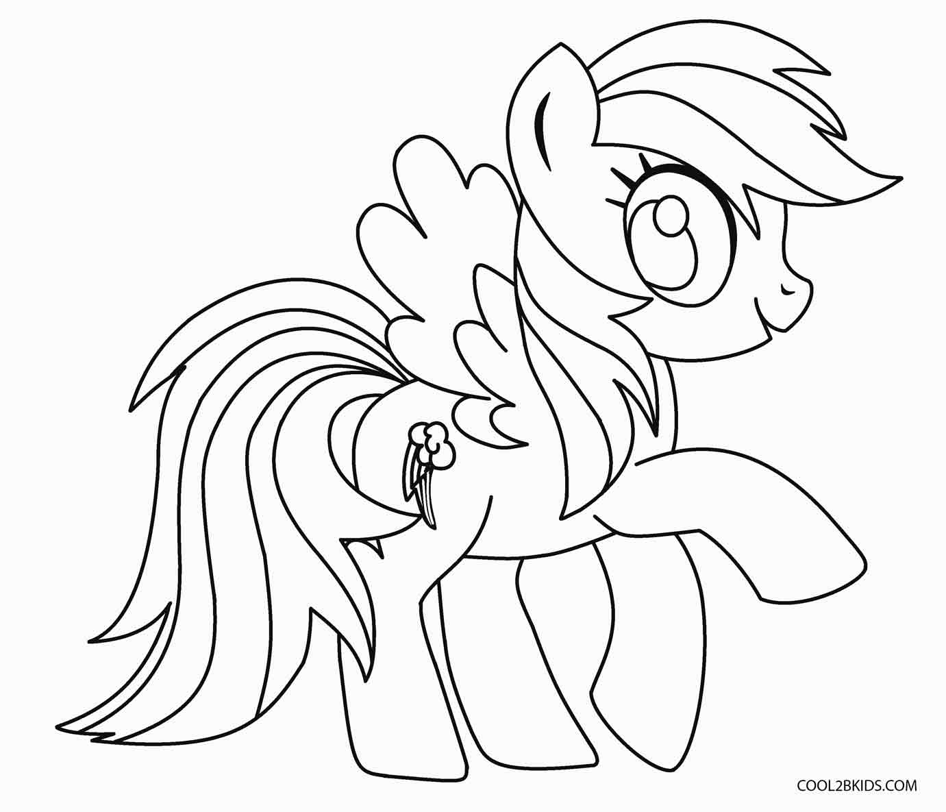 coloring page pony my little pony coloring pages print and colorcom coloring pony page
