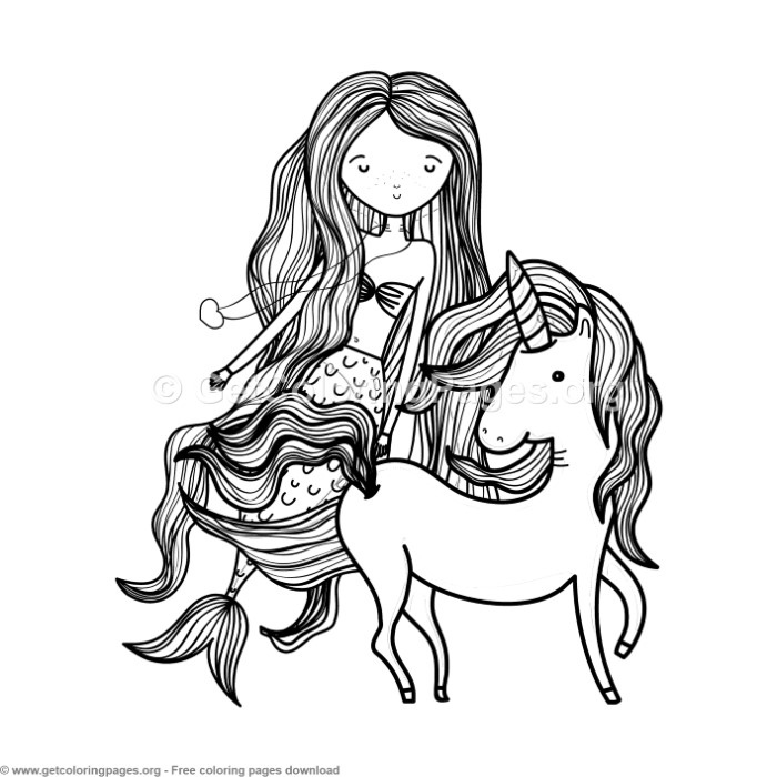 coloring page unicorn mermaid 54 cute cartoon unicorn coloring pages getcoloringpages mermaid unicorn coloring page