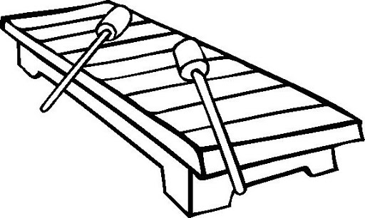 coloring page xylophone top 20 free printable music coloring pages online coloring xylophone page