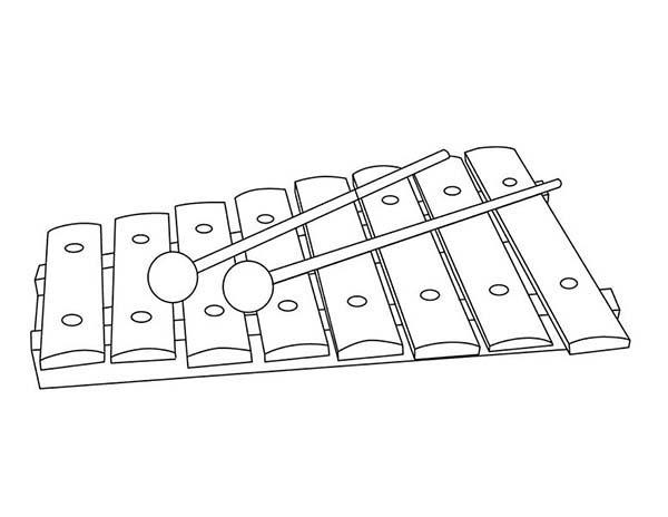 coloring page xylophone xylophone coloring pages xylophone page coloring