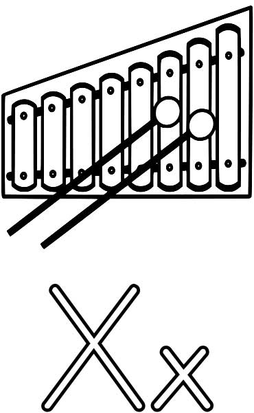 coloring page xylophone xylophone coloring pages xylophone page coloring 1 1