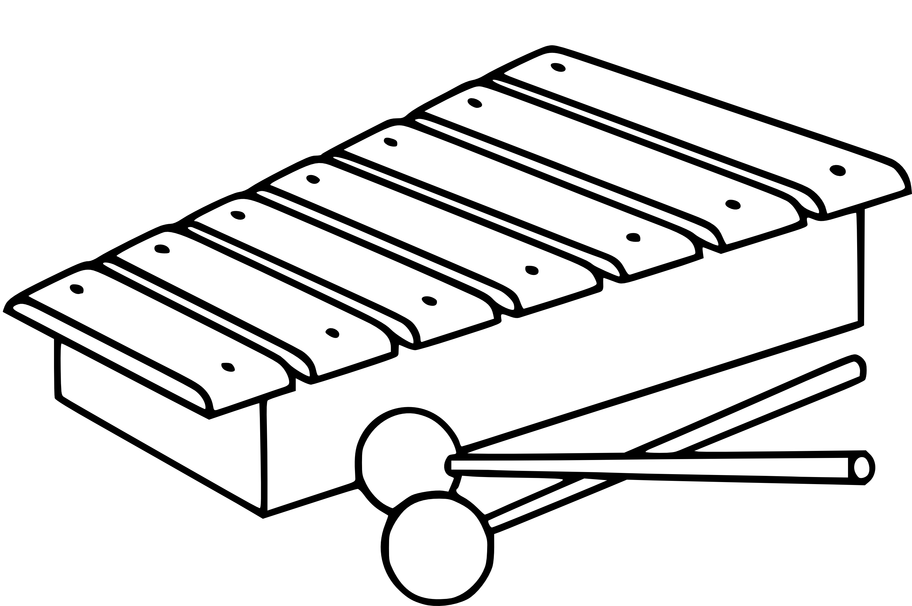 Coloring page xylophone
