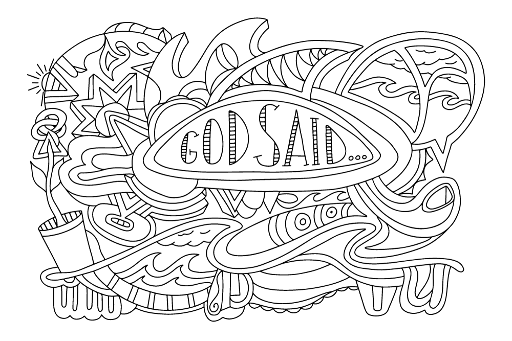 coloring pages 8.5x11 apostles creed coloring page in three sizes 85x11 8x10 coloring 8.5x11 pages