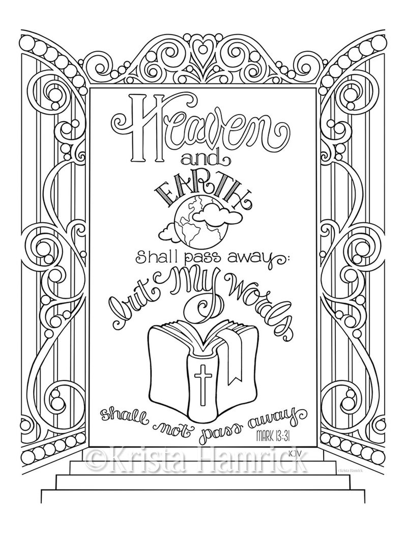 Coloring pages 8.5×11