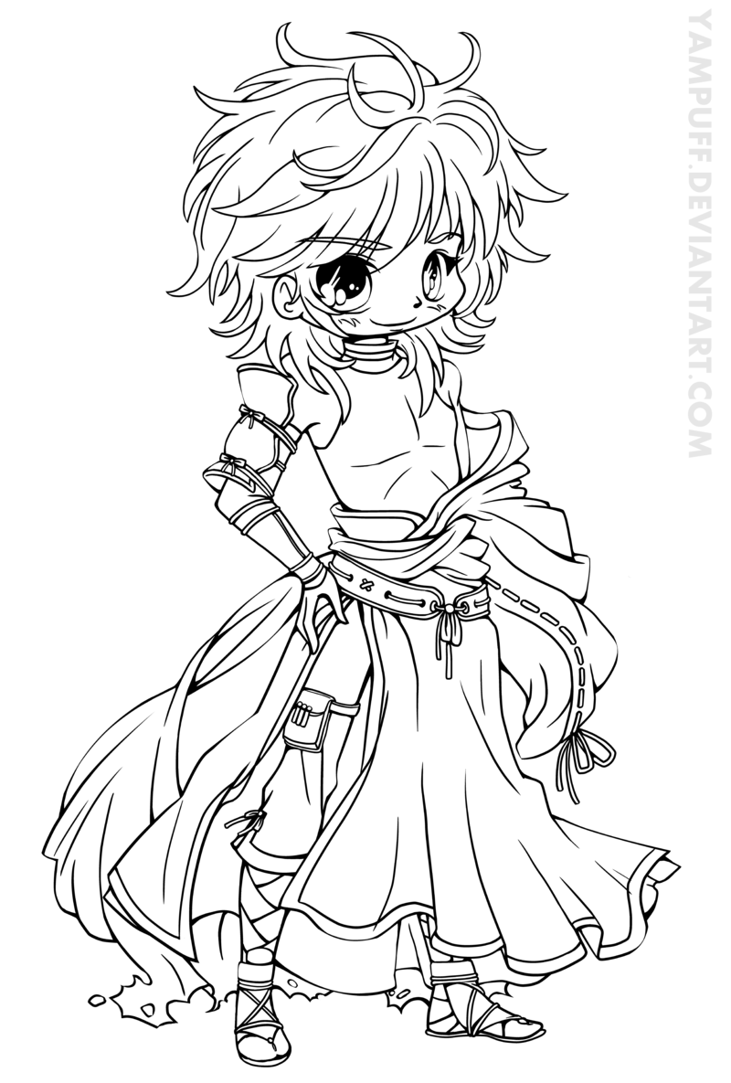 coloring pages anime chibi get this free printable chibi coloring pages for kids hakt6 coloring chibi pages anime