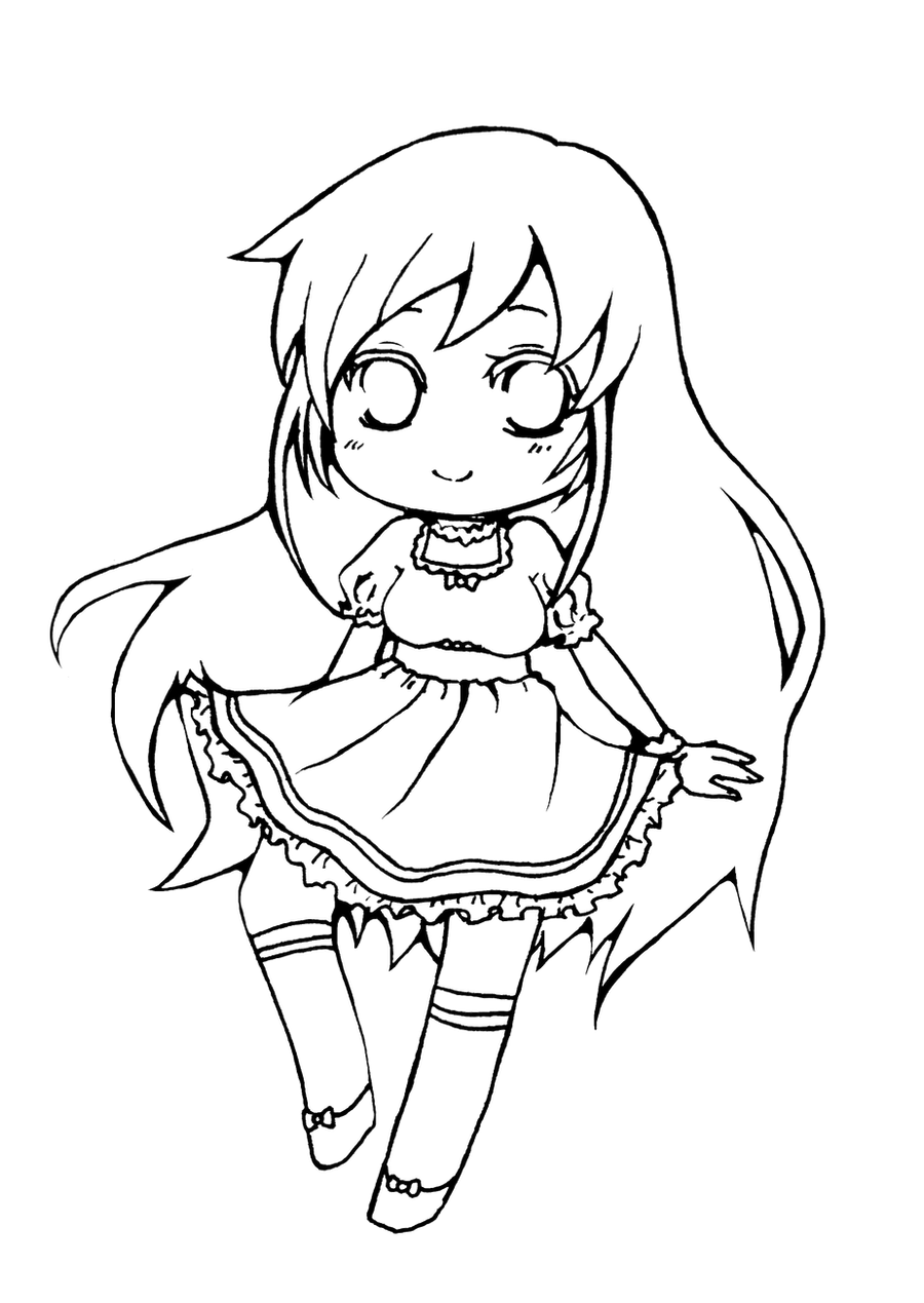 coloring pages anime chibi printable chibi coloring pages for kids cool2bkids pages chibi anime coloring