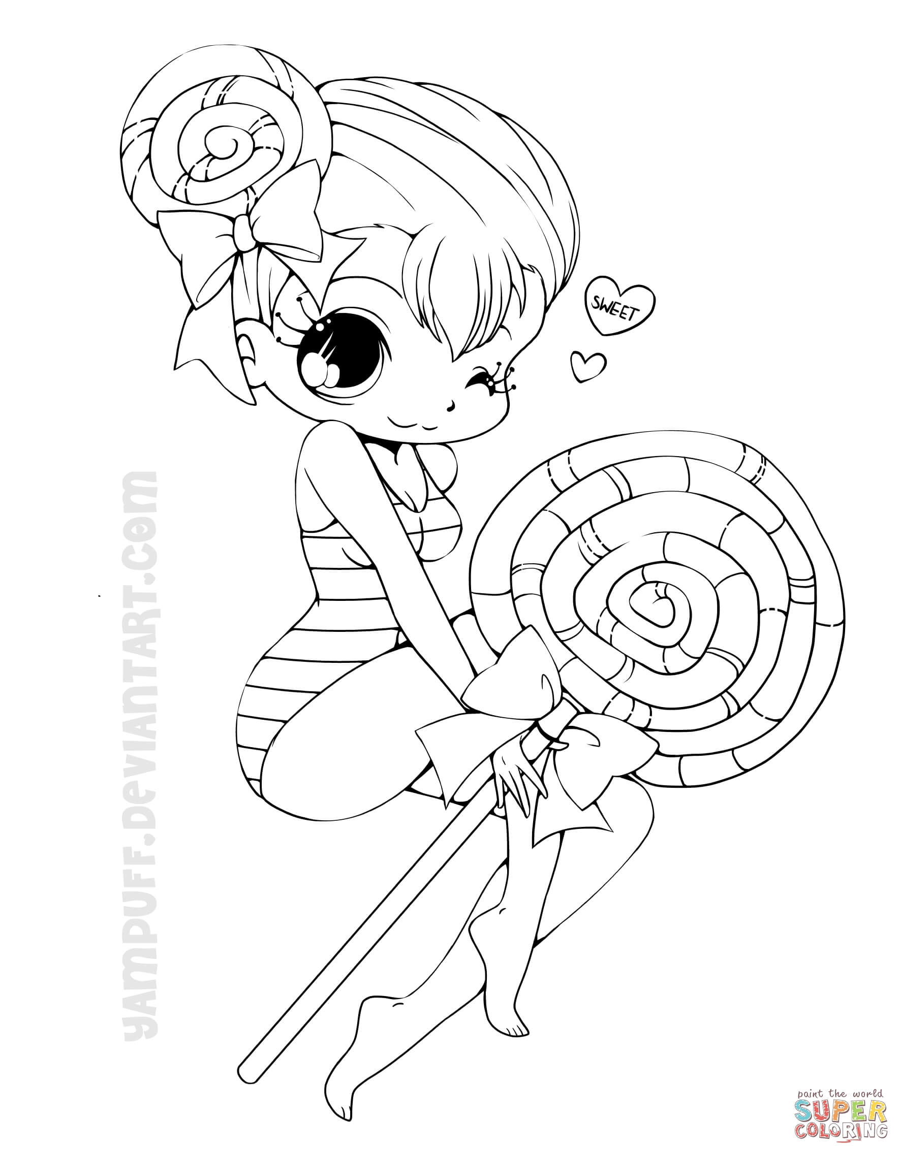 coloring pages anime chibi s39more chibi commission lineart by yampuff on deviantart chibi pages anime coloring