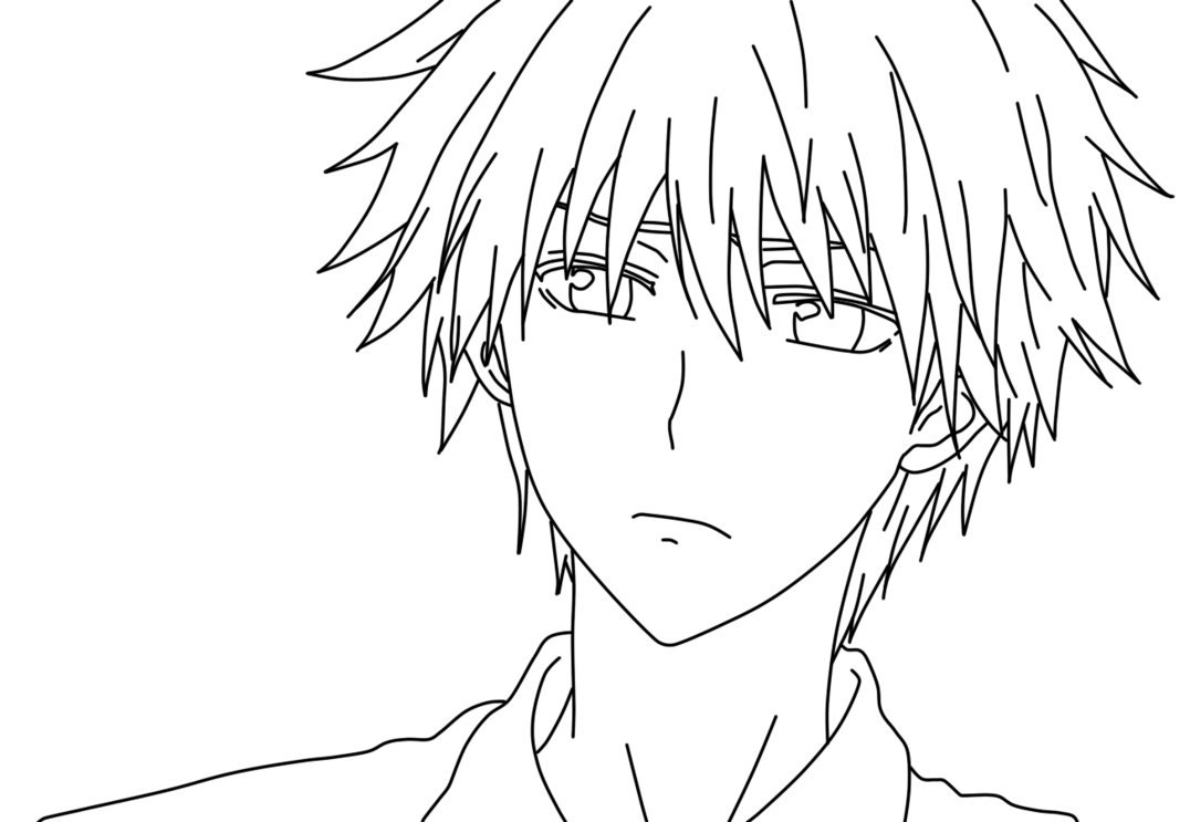 coloring pages anime no color kids page anime 123 coloring pages anime no pages color coloring