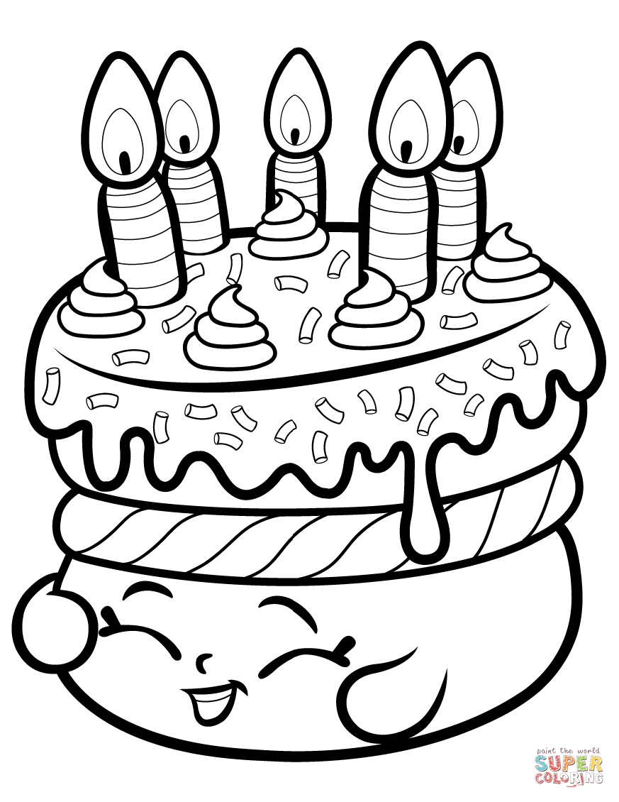 coloring pages cake cake coloring pages getcoloringpagescom cake coloring pages